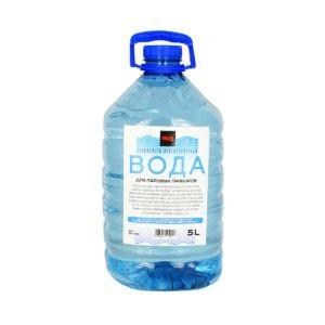 Специальная вода для отпаривателей и утюгов
