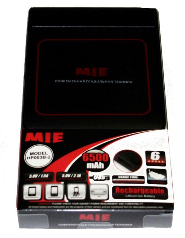 Портативное зарядное устройство MIE Power Bank емкостью 6500 мАч