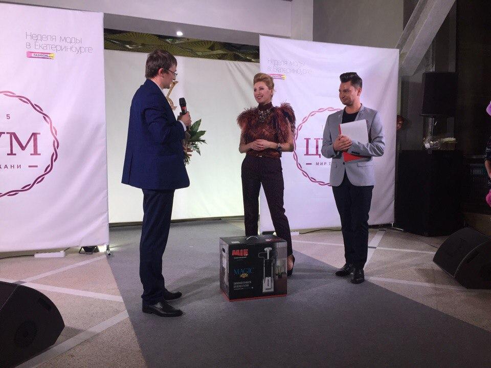MIE выступила партнером модного показа Вики Цыгановой