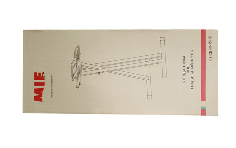 Подставка под гладильный пресс MIE Romeo White – 87–94 см