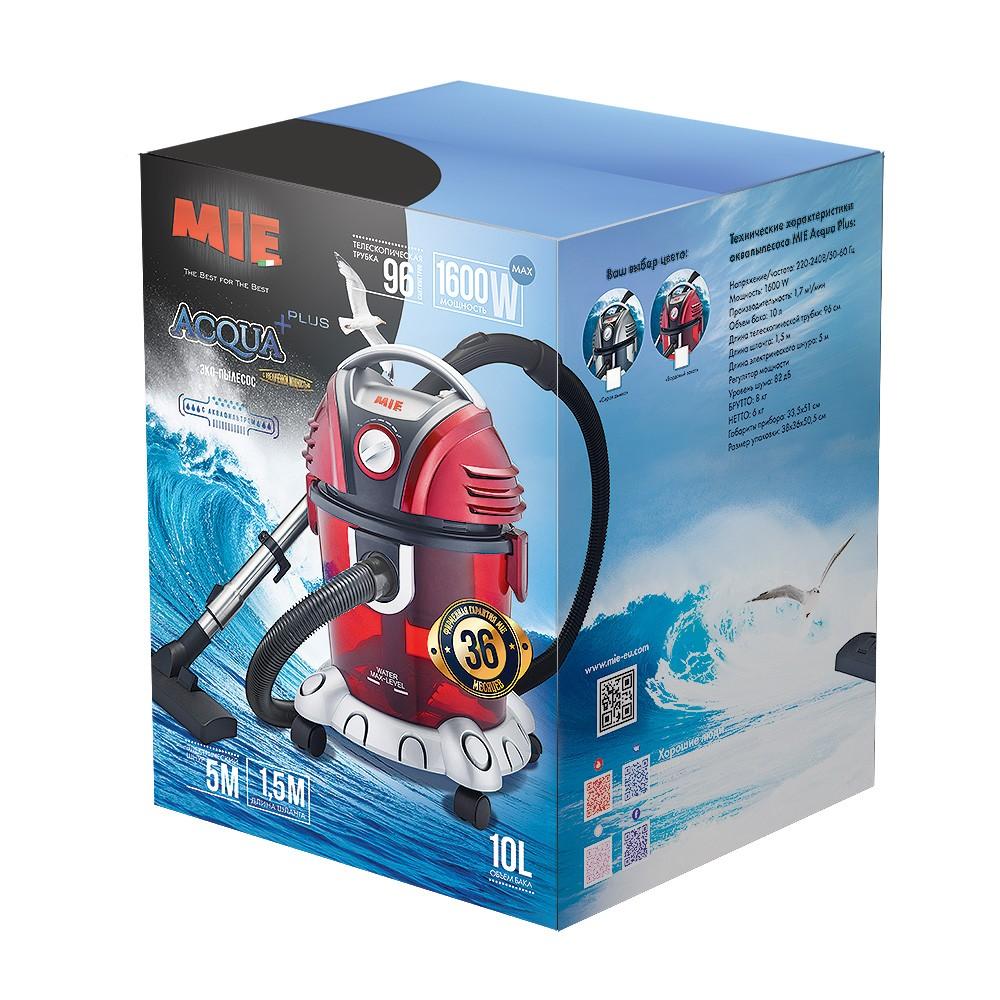 Пылесос с аквафильтром MIE Acqua Plus