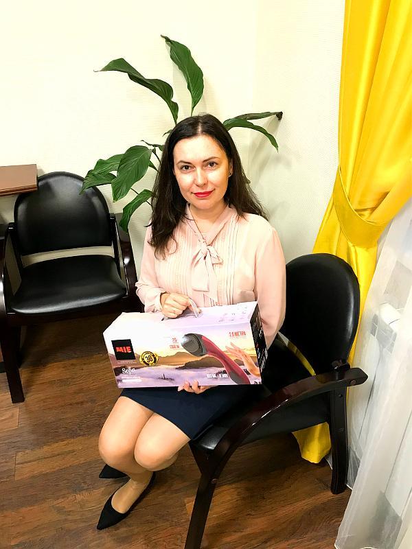 MIE дарит подарки подписчикам Екатерины Стриженовой