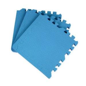 Универсальный коврик-пазл «Euro Cover», голубой 30х30