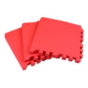Универсальный коврик-пазл «Euro Cover», красный 30х30
