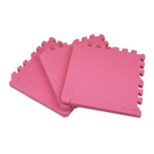 Универсальный коврик-пазл «Euro Cover», розовый 30х30