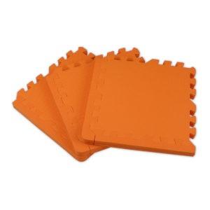 Универсальный коврик-пазл «Euro Cover», оранжевый 30х30