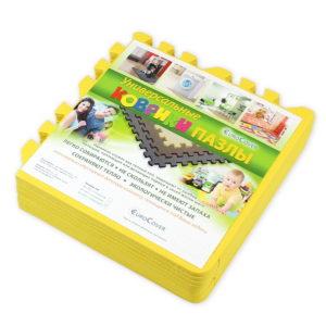 Универсальный коврик-пазл «Euro Cover», желтый 30х30