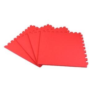 Универсальный коврик-пазл «Euro Cover», красный 50х50