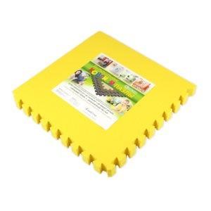 Универсальный коврик-пазл «Euro Cover», желтый 50х50